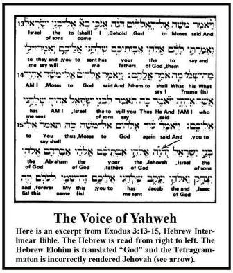 L14The Voice of Yahweh